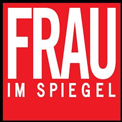 Frau im Spiegel logo