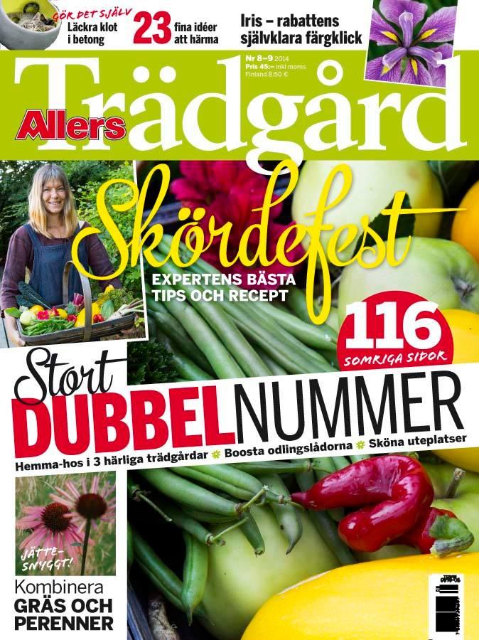 Allers Trädgård 8-9 2014. Kesäinen tuplanumero (116-sivua). f27196e1c8a26