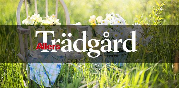 Allers Trädgård logo