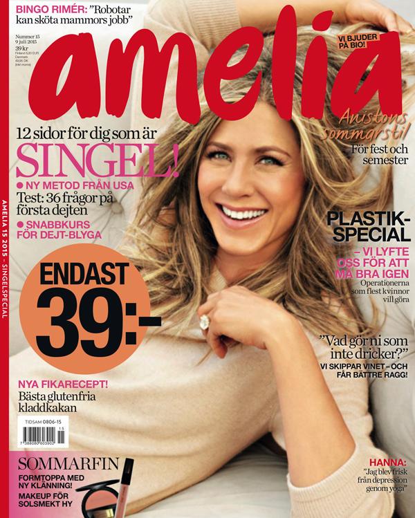 Amelia 15/2015. Jennifer Aniston.