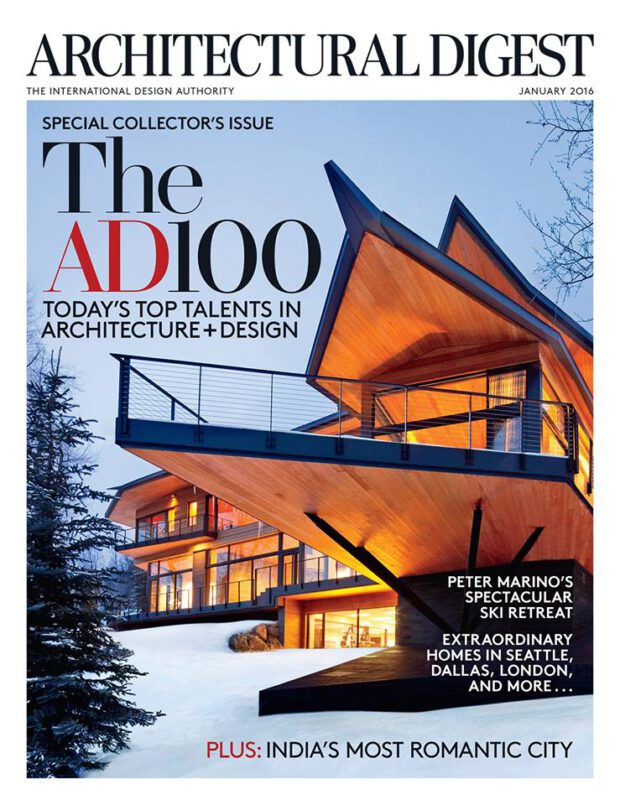 Architectural Digest 1/2016. The AD100.