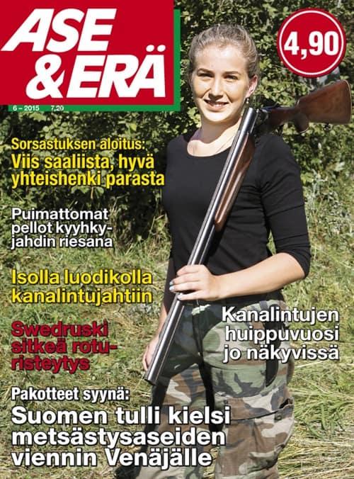 Ase & Erä 6/2015. Sorsastuksen aloitus.