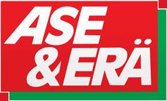 Ase & Erä -lehden logo
