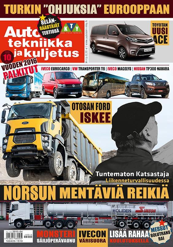 Auto, tekniikka ja kuljetus 12/2015. Otosan Ford.