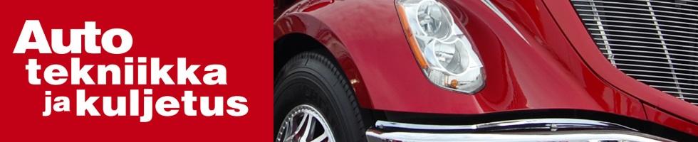 Auto, tekniikka ja kuljetus -lehden logo
