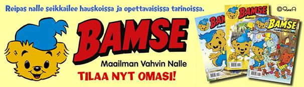 Tilaa Bamse lehti