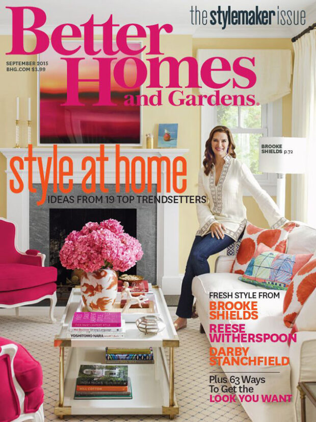Better Homes and Gardens 9/2015. Style at Home.
