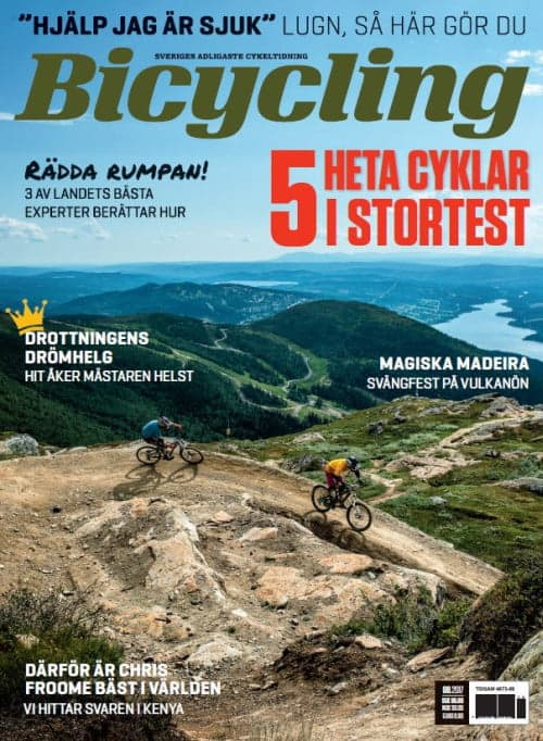 Bicycling Sverige 8/2017