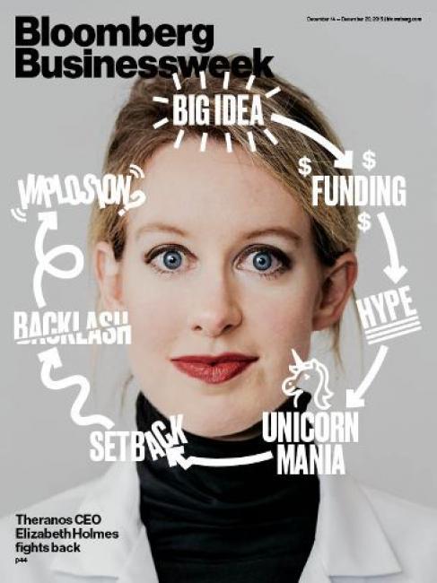 Bloomberg Businessweek (13.12.2015). Elisabeth Holmes.