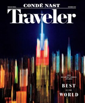 Condé Nast Traveler 11/2015. 2015 Readers' Choice Awards – Best in the World.