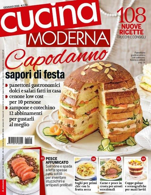 Cucina Moderna 1/2016. Capodanno sapori de festa.