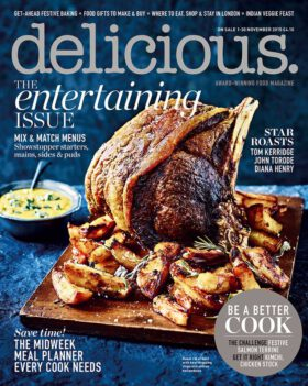 Delicious 11/2015. The Entertaining Issue.