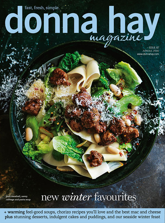 Donna Hay Magazine 6-7/2016. New Winter Favourites.