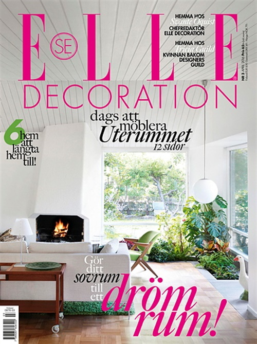 ELLE Decoration (Ruotsi) 3/2016. Gör ditt sovrum till ett dröm rum!