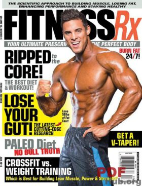 FitnessRx for Men 7/2016. Ripped to the Core.