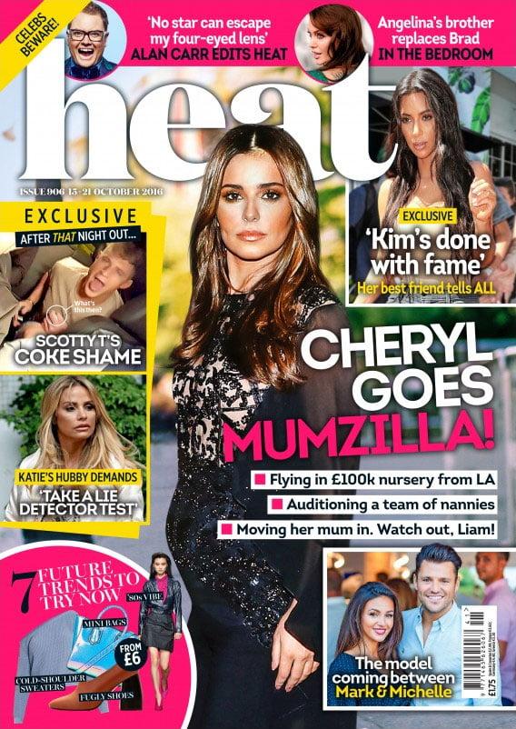 Heat #906 (15.-21.10.2016). Cheryl Goes Mumzilla.