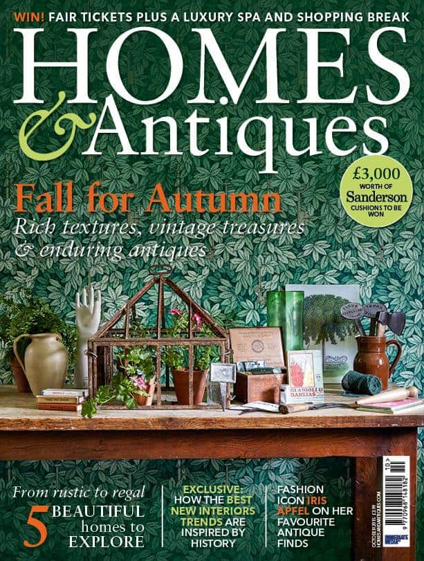 Homes & Antique 9/2015: Fall for Autumn - Rich textures, vintage treasures & enduring antiques