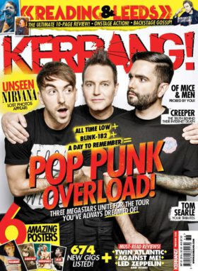 Kerrang! #1636 (2016). All Time Low. Blink-182. A Day to Remember.