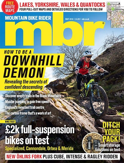MBR 5/2016. How to Be a Downhill Demon. Revealing the secrets of confident descenting.