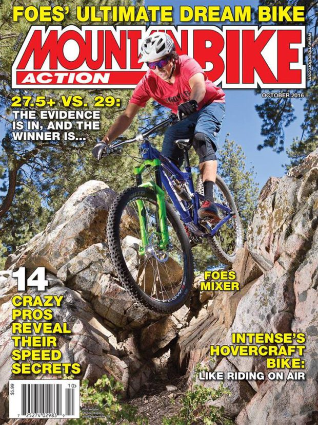 """Mountain Bike Action 10/2016. 27.5"""" vs 29"""": The Evidence is in and the Winner is..."""