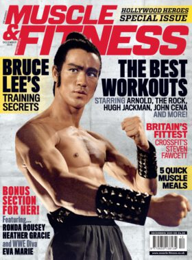 Muscle & Fitness UK 12/2015. Bruce Lee.