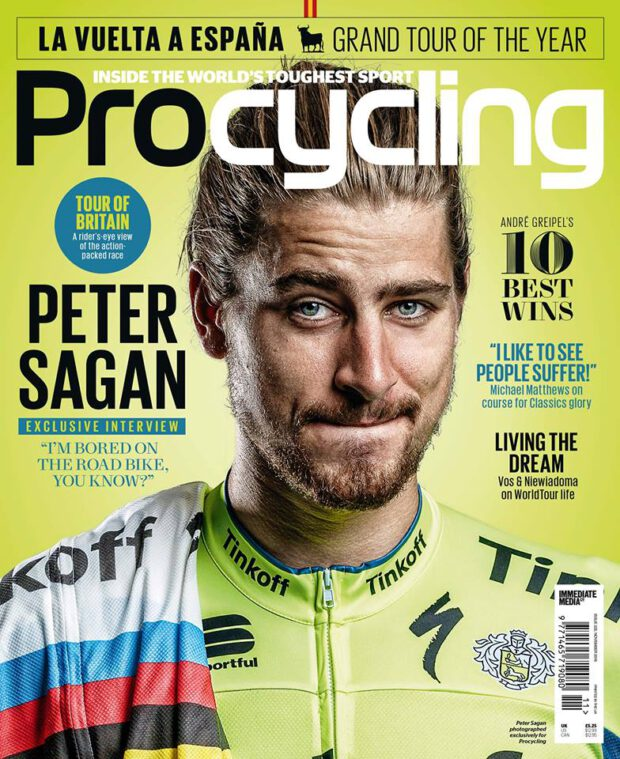 ProCycling 11/2016. Peter Sagan: I'm bored on the road bike, you know?