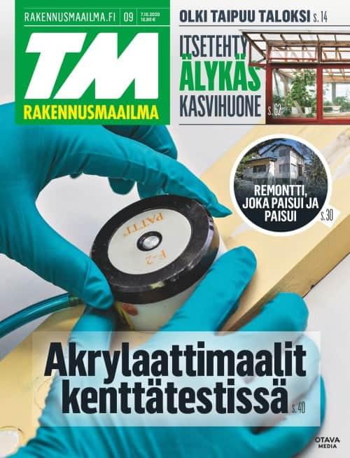 TM Rakennusmaailma 9/2020