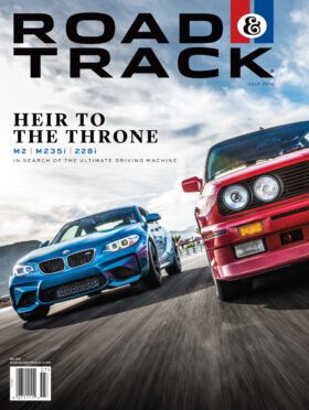 Road & Track 7/2016. Heir to the Throne. M2. M235i. 228i.