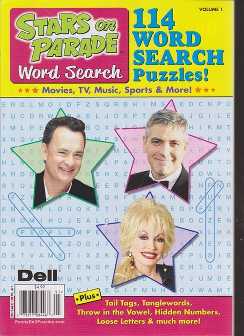 Stars On Parade Word Search 6/2015