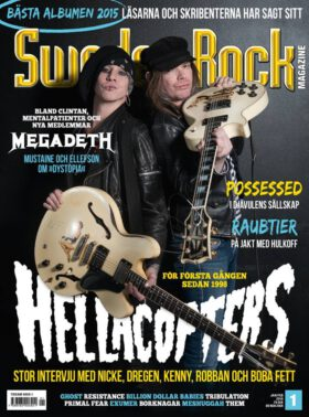 Sweden Rock Magazine 1/2016. Hellacopters.