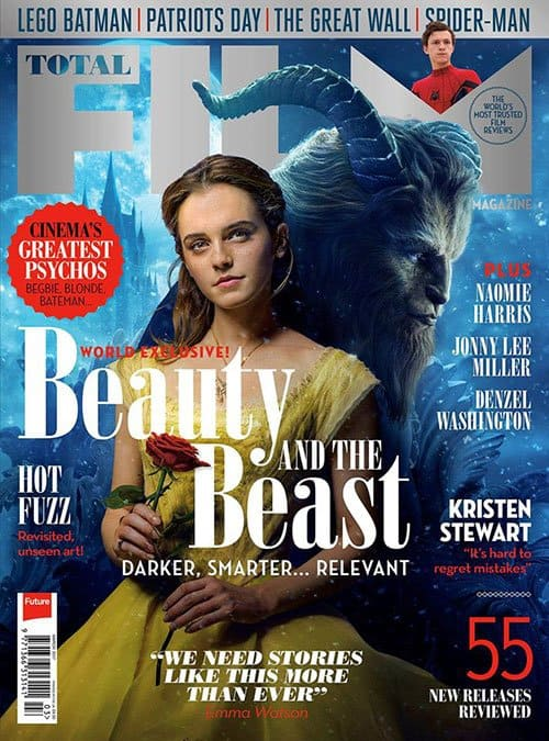 Total Film 3/2017. World Exclusive: Beauty and the Beast. Darker, smarter... relevant.